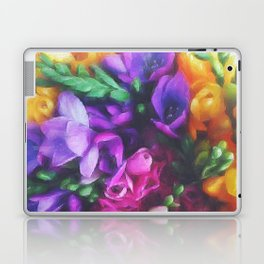 Freesias Laptop & iPad Skin