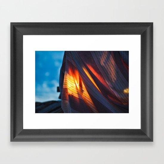 peepo Framed Art Print