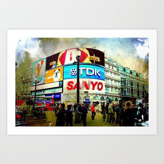 London VII - Piccadilly Circus Art Print