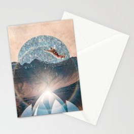 Taking the leap Stationery Cards