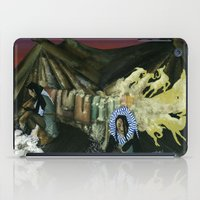 mythology iPad Cases featuring Inuit Mythology: Chapter 1, part 2 by Estúdio Marte