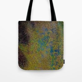 Earth overview texture Tote Bag