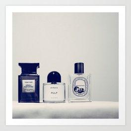 perfume ver.beige Art Print
