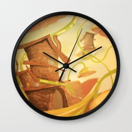 There Once Was A House Wall Clock