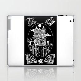 Ominous Victorian House Invert Laptop & iPad Skin