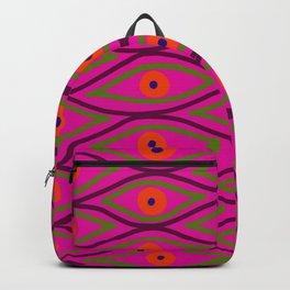 Their Eyes - Heliotrope Backpack