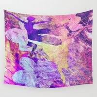 ballet Wall Tapestries featuring Ballet Colors by Vitta