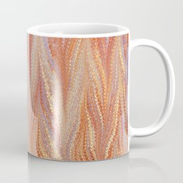 Sunset, Combed Marbling Pattern Coffee Mug