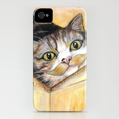 Maru - Cats with Moustaches iPhone (4, 4s) Slim Case