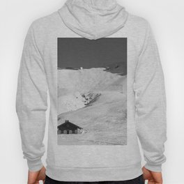 Mountain Huts, Alps, Arcs Hoody