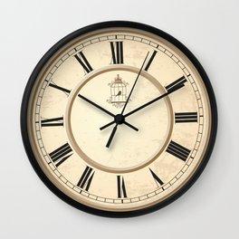 Classy Vintage Birdcage Decorative Clock Wall Clock
