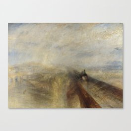 Rain, Steam and Speed – The Great Western Railway Canvas Print