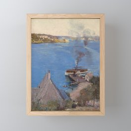 Arthur Streeton - From McMahon's Point (1890) Framed Mini Art Print