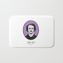 Authors - Edgar Allan Poe Bath Mat