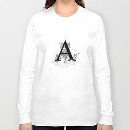 Alphabetanauts - A Long Sleeve T-shirt