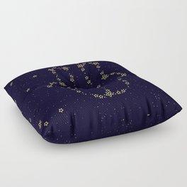 Hamsa Constellation Floor Pillow