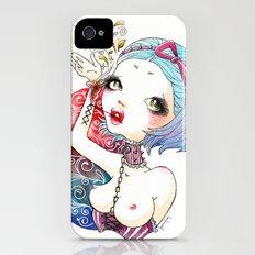 Flower Blood Slim Case iPhone (4, 4s)