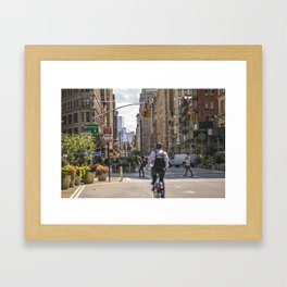 Flatiron District Framed Art Print