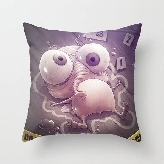 Free Sug(A)r! Throw Pillow