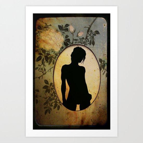 Oval Art Print