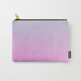 UNLIKE OTHER - Minimal Plain Soft Mood Color Blend Prints Carry-All Pouch
