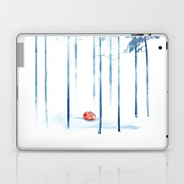 Sleeping in the woods Laptop & iPad Skin