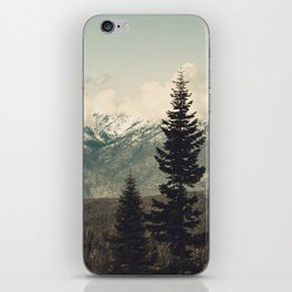 Snow capped Sierras iPhone Skin