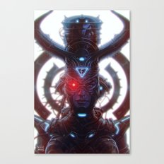 Electric Queen Canvas Print