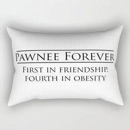 Parks and Recreation - Pawnee Forever Rectangular Pillow