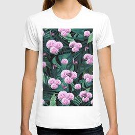 Tropical Peonies Dream #1 #floral #foliage #decor #art #society6 T-shirt