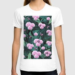 Tropical Peonies Dream #1 #floral #foliage #decor #art #society6 T-shirt