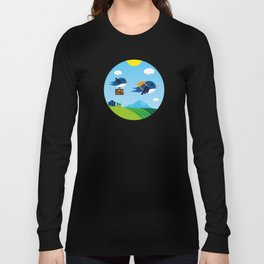Swallows go to Africa Long Sleeve T-shirt