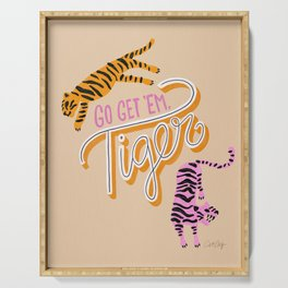 Go Get 'Em Tiger – Melon Serving Tray