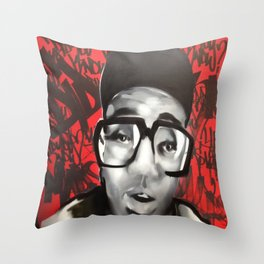 do the right thang Throw Pillow