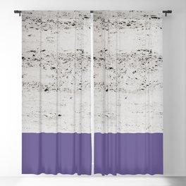 Ultra Violet on Concrete #3 #decor #art #society6 Blackout Curtain