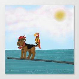 Augie Redbeard Canvas Print