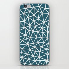 Segment Blue iPhone & iPod Skin
