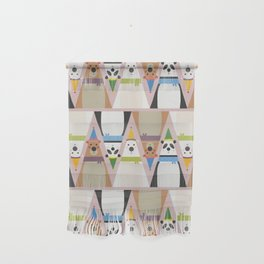 A Sleuth of Bears (Patterns Please) Wall Hanging
