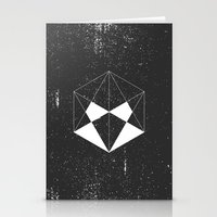 hexagon Stationery Cards featuring Hexagon by eARTh