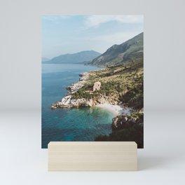 Secluded Beach Mini Art Print