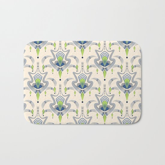 "Art Deco 34. ""Julia,"" Bath Mat"
