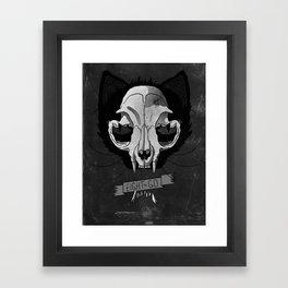 Nine Lives Framed Art Print