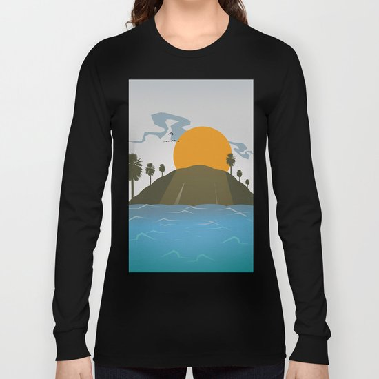 Tropic storm is coming Long Sleeve T-shirt