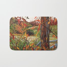 Autumn Lights Bath Mat