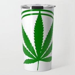Funny CannaBoss cannabinoid Hemp Tee Travel Mug