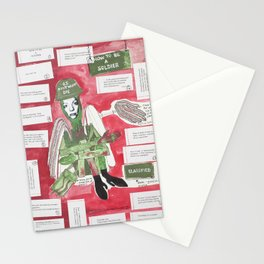 How To Be A Soldier Stationery Cards
