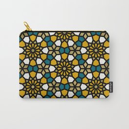 Persian Mosaic – Marigold Palette Carry-All Pouch