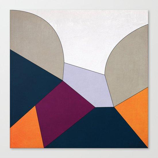 Geometric YM Canvas Print