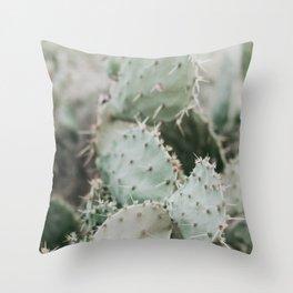 Cactus Closeup Throw Pillow