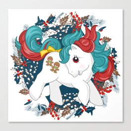my little pony christmas baby Canvas Print